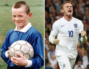 Mimpi Rooney terwujud, sejak kecil ia bercita-cita menjadi pemain sepakbola terkenal.
