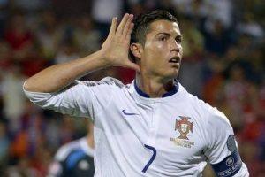 Ronaldo saat bersama Madrid tahun 2015