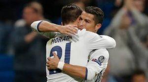 Morata menyelamatkan Madrid, juga Ronaldo.