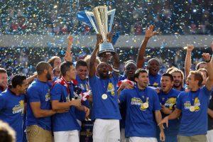 Tim nasional Amerika Serikat menang dalam Piala Emas Concacaf 2013 dibawah asuhan Klinsmann.